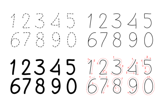 Print on Demand: Drawing Numbers for Preschool Graphic PreK By pagistudio