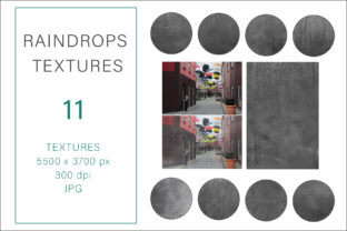 Print on Demand: Raindrops Textures, Photography Textures Graphic Textures By AS Digitale