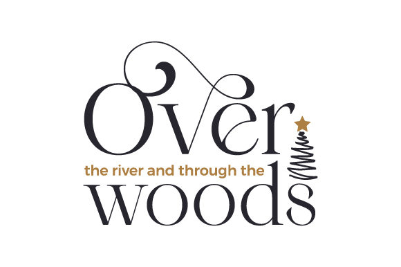 Over the River and Through the Woods Christmas Craft Cut File By Creative Fabrica Crafts