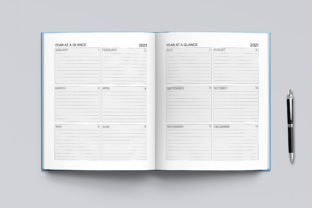 2021-2022 Agenda Planner Template Graphic KDP Interiors By okdecoconcept 10