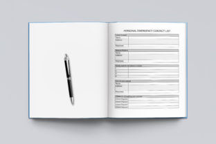 2021-2022 Agenda Planner Template Graphic KDP Interiors By okdecoconcept 3