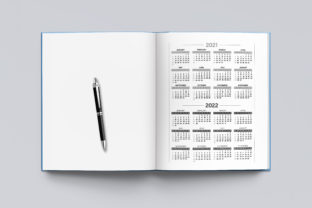 2021-2022 Agenda Planner Template Graphic KDP Interiors By okdecoconcept 4