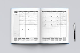 2021-2022 Agenda Planner Template Graphic KDP Interiors By okdecoconcept 5