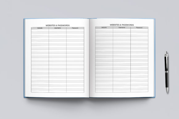2021-2022 Agenda Planner Template Graphic Downloadable Digital File