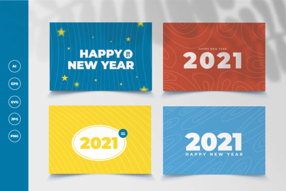 Background New Year 2021 Graphic Backgrounds By OKEVECTOR