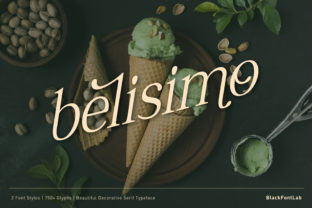 Print on Demand: Belisimo Serif Font By black.fontlab