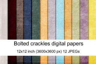 Print on Demand: Bolted Crackles Graphic Textures By Andrea Kostelic