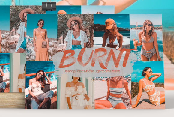 Burnt Lightroom Presets Graphic Actions & Presets By MintDesign