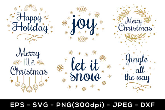 Print on Demand: Christmas Bundle SVG and Sublimation Graphic Crafts By AdMaioraDesign