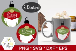 Print on Demand: Christmas Ornaments Gnomes Graphic Crafts By Queen Bee Papier