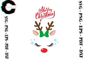 Print on Demand: Christmas Reindeer Lover Svg Graphic Print Templates By SVG Creation