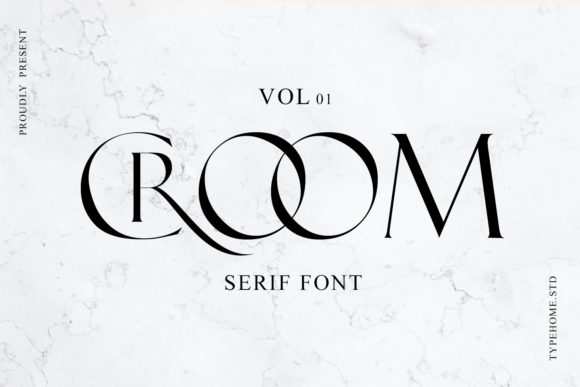 Print on Demand: Croom Serif Font By typehome.std