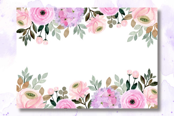 Print on Demand: Digital Clipart Floral Watercolor Part.3 Graphic Illustrations By asrulaqroni