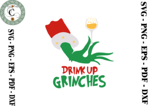 Print on Demand: Drink Up Grinches Drinking Team Svg Graphic Print Templates By Cricut Creation
