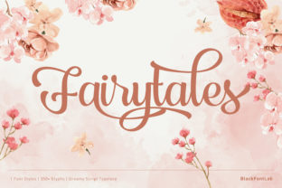 Print on Demand: Fairytales Script & Handwritten Font By black.fontlab