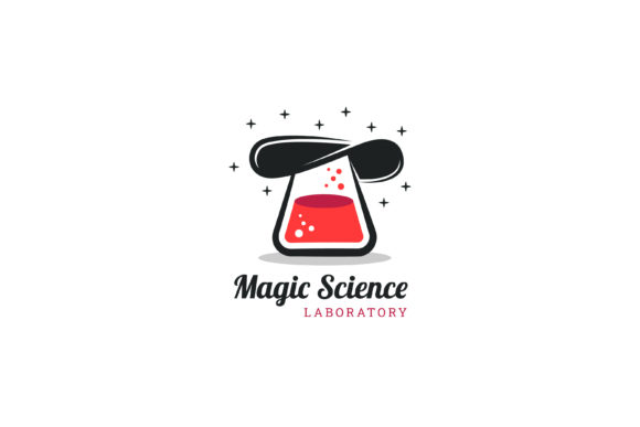 Print on Demand: Hat Magic Science Logo Graphic Logos By noory.shopper