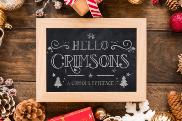 Print on Demand: Hello Crimsons Serif Font By Gilar Studio