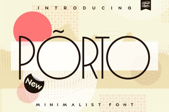 Print on Demand: Porto Sans Serif Font By letterenastudios
