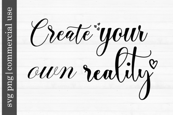 Print on Demand: Create Your Own Reality Graphic Print Templates By inlovewithkats