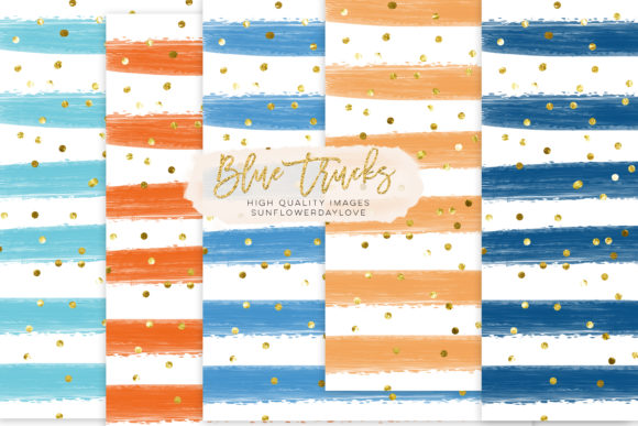 Print on Demand: Stripe Digital Paper, Background Clipart Graphic Backgrounds By SunflowerLove