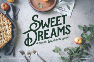 Print on Demand: Sweet Dreams Serif Schriftarten von black.fontlab