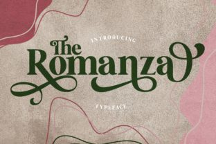Print on Demand: The Romanza Serif Schriftarten von Alit Design