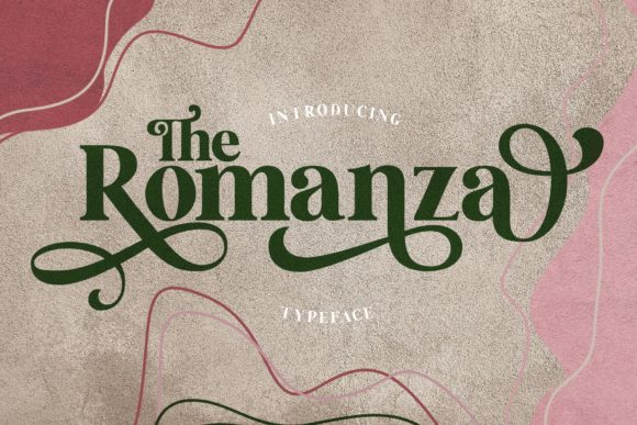 Print on Demand: The Romanza Serif Font By Alit Design