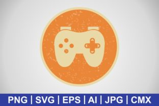 Print on Demand: Vector Video Game Icon Grafik Icons von IYIKON