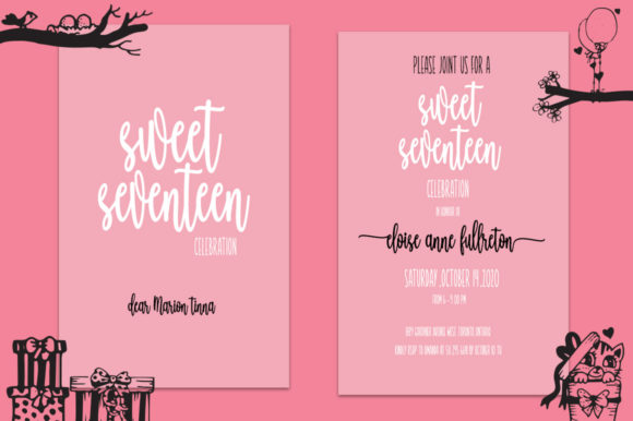 Wellcome Valentine Font Preview