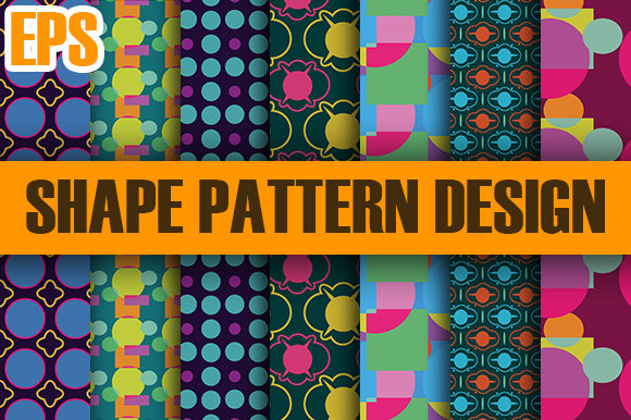 Print on Demand: Package Shape Pattern Design New 2020 Graphic Patterns By ahmaddesign99