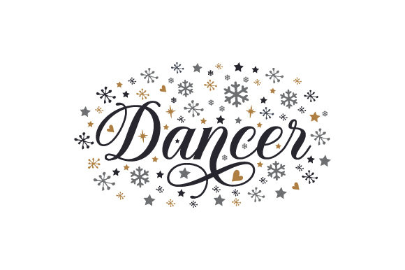 Dancer Christmas Craft Cut File By Creative Fabrica Crafts