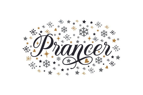 Prancer Cut File