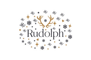 Rudolph Christmas Craft Cut File By Creative Fabrica Crafts