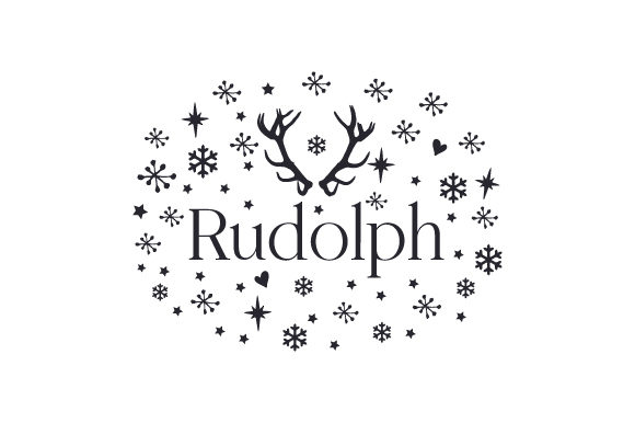 Rudolph Cut File Download