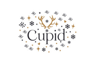 Cupid Christmas Craft Cut File By Creative Fabrica Crafts 1