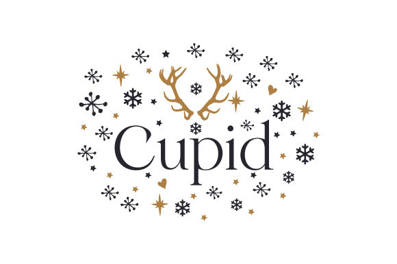 Cupid Christmas Craft Cut File By Creative Fabrica Crafts