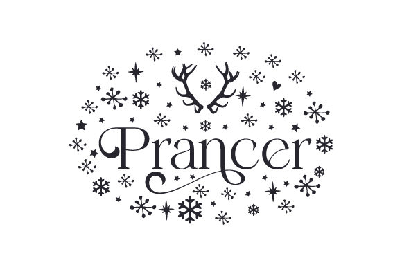 Prancer Cut File Download