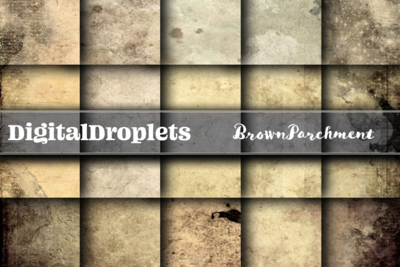 Brown Parchment Graphic Backgrounds By digitaldroplets