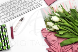 Print on Demand: Feminine Styled Stock Photography Graphic Photos By AS Digitale