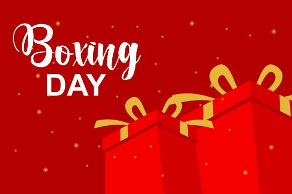 Gift Box Greeting Card for Christmas Graphic Logos By 2qnah