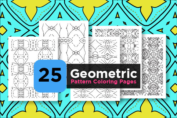 Print on Demand: Kdp Pattern Pages Bundle Graphic Coloring Pages & Books Adults By Riduwan Molla