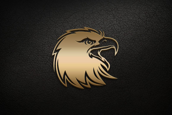 Strong Eagle Graphic Logos By Herulogo