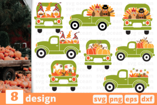 Thankful Truck Graphic Crafts By SvgOcean