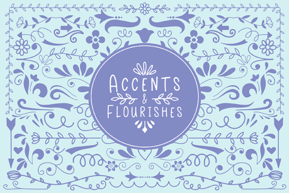 Accents and Flourishes Graphic Illustrations By carrtoonz