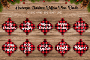 Buffalo Plaid Arabesque Ornament Svg Graphic Crafts By All About Svg