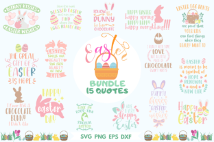 Easter 15 Quotes Bundle Graphic Crafts By Graphipedia