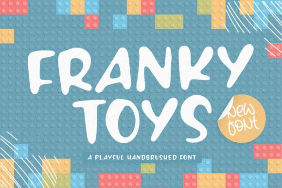 Print on Demand: Franky Toys Display Font By Balpirick