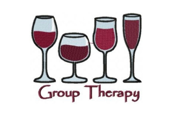 Group Therapy Embroidery