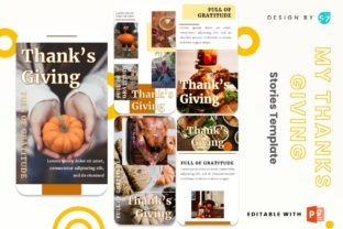 Instagram Story - My Thanks Giving Graphic Presentation Templates By 57creative