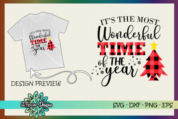 It's the Most Wonderful Time of the Year Graphic Print Templates By ssflower